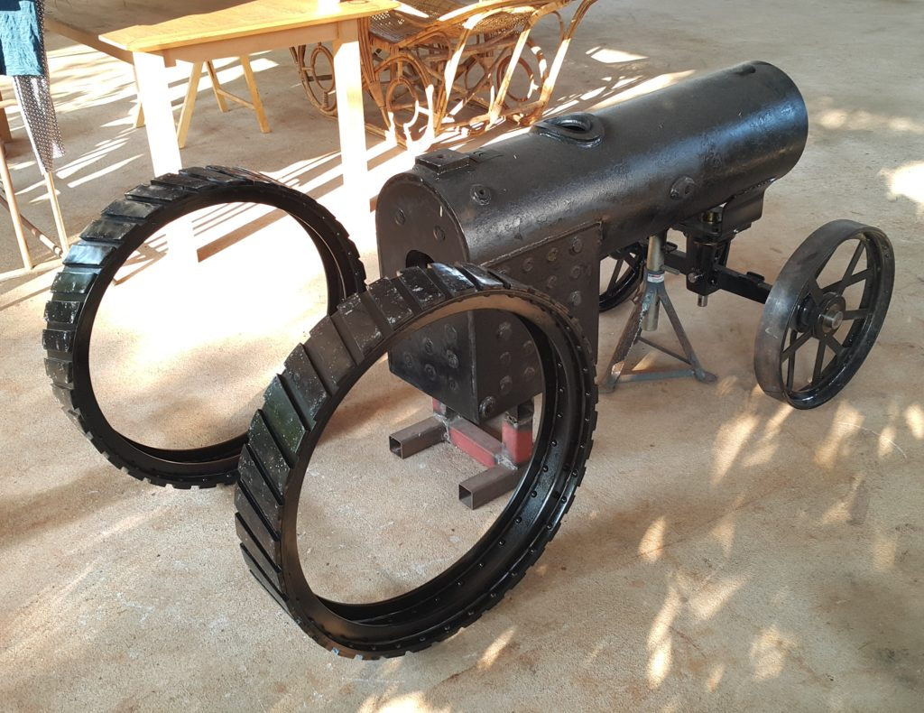 Image of 6 Inch Scale Little Samson Traction Engine Construction Boiler Back Front Wheels Axle 01