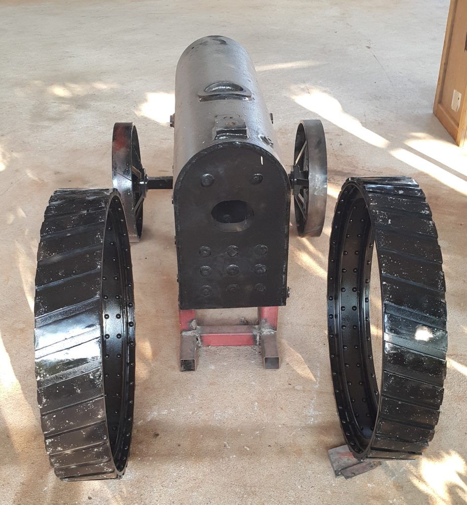 Image of 6 Inch Scale Little Samson Traction Engine Making Boiler Back Front Wheels Axle 03